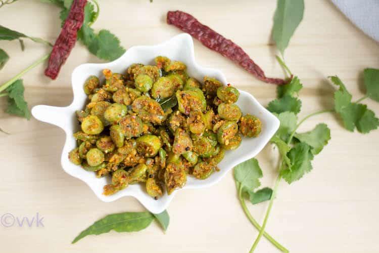 Dondakaya Kobbari Vepudu | Ivy Gourd Coconut Curry