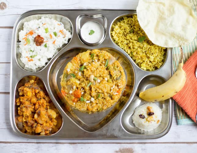 Saravana Bhavan Style Executive Thali | Variety Rice Thali