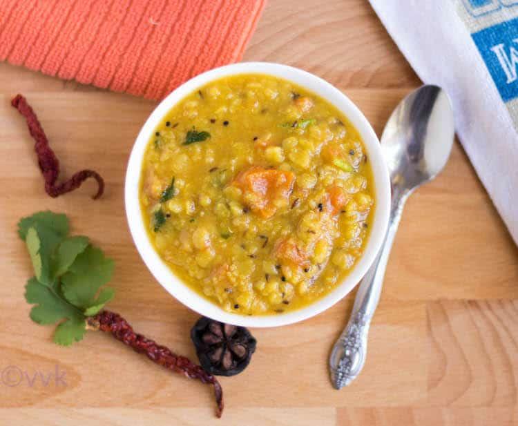 Sweet and Sour Gujarati Dal