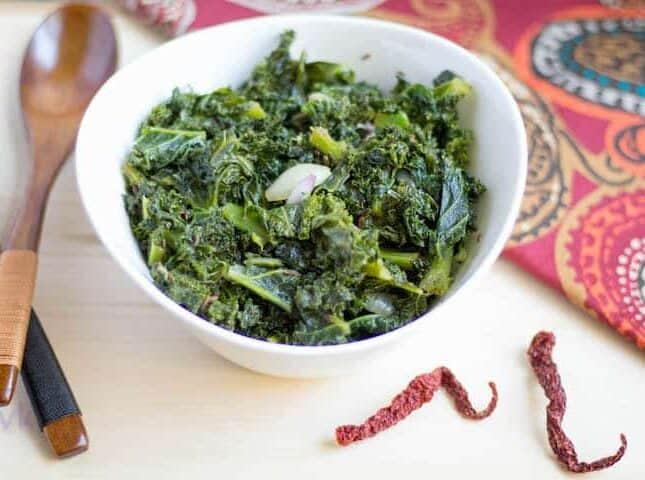 Instant Pot Kale Stir Fry