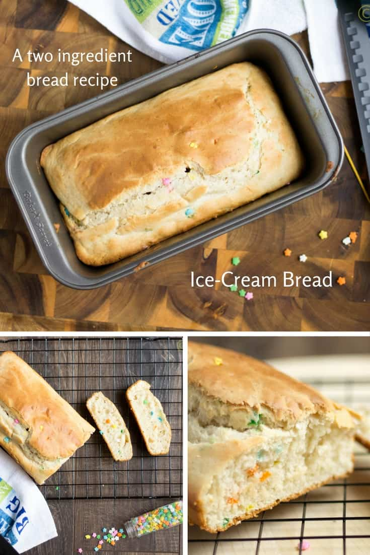 Icecream bread