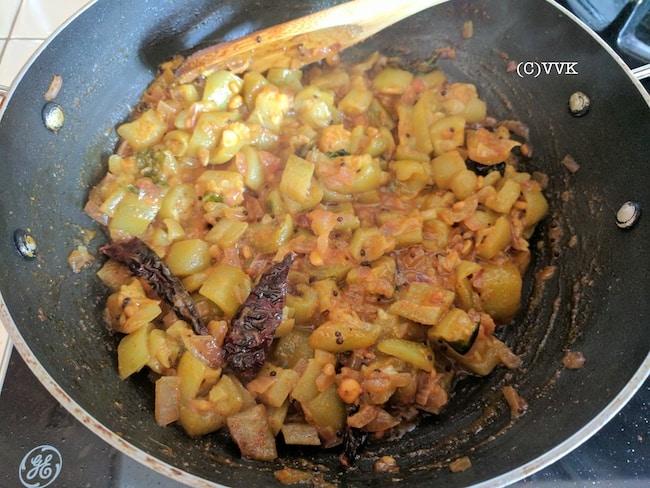 ridgegourd cooking