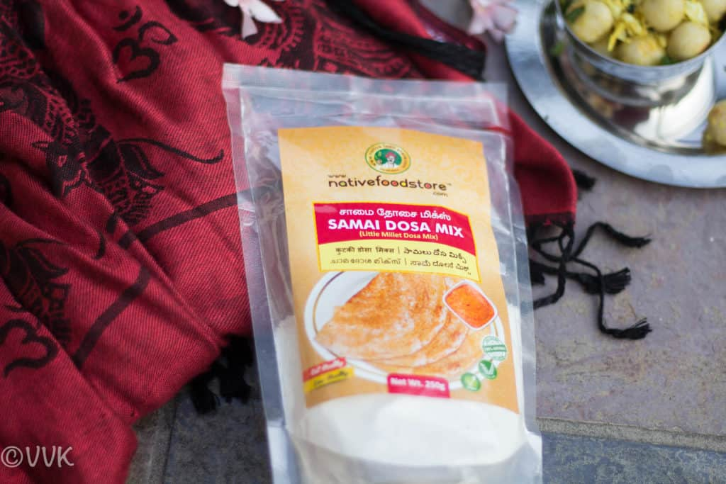 Samai Dosa Mix by NativeFoodStore