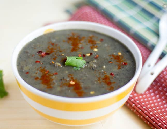 Instant Pot Daineiiong | Meghalaya Style Dal with Sesame Seeds
