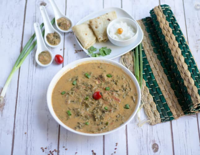 Instant Pot Gahat Phaanu | Horsegram Kale Stew | Garhwali Recipes