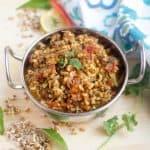 Instant Pot Matki Usal - Matki Chi Usal Recipe Snippet