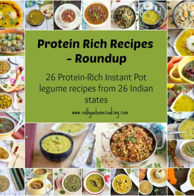 26 legume protein rich recipes prepared in Instant Pot roundup