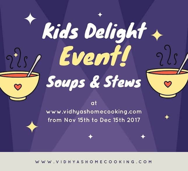 Kid's Delight Event Announcement | Soups and Stews