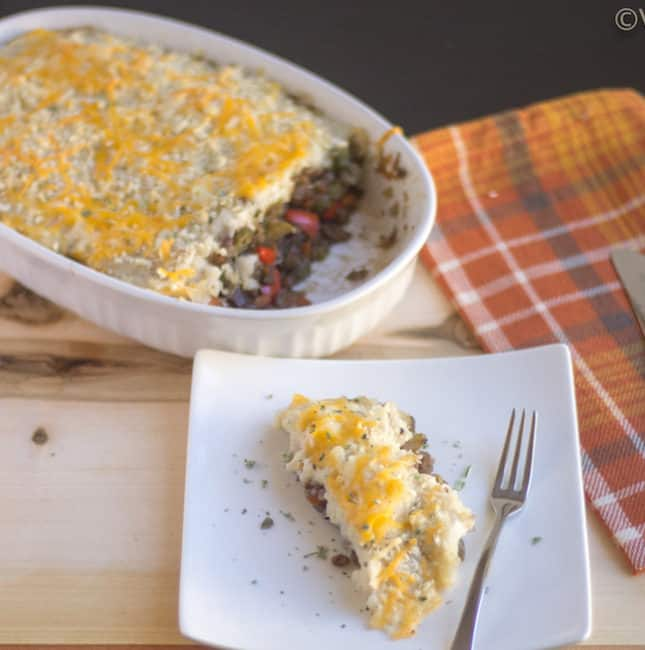 Lentils and Vegetable Shepherd's Pie | Vegetarian Shepherd's Pie