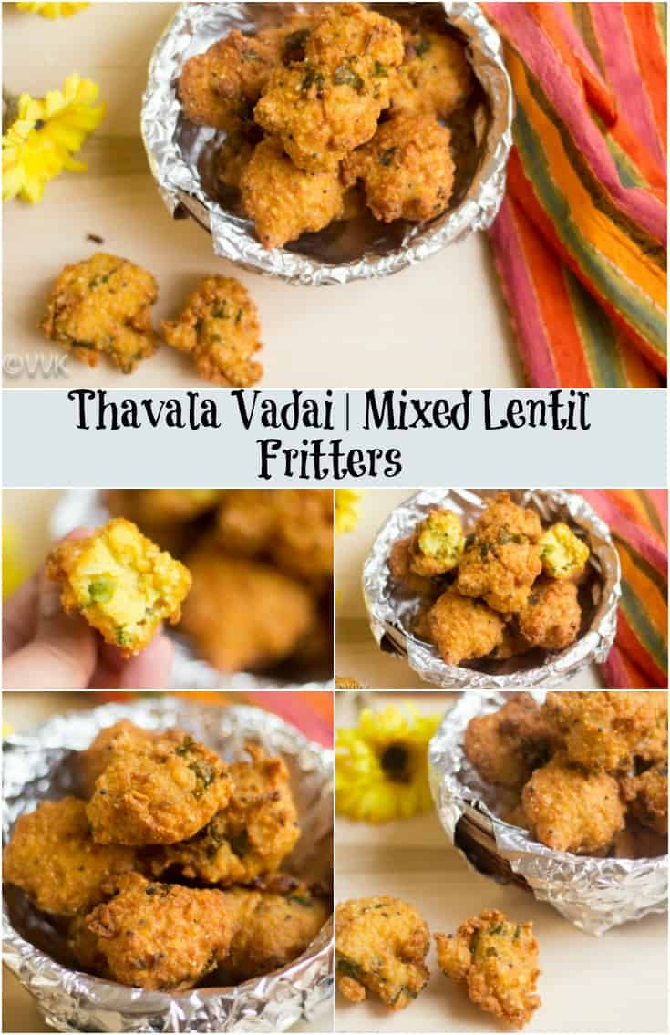 Thavala Vadai collage with text overlay