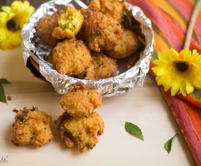 Thavala Vadai | Mixed Lentil Fritters