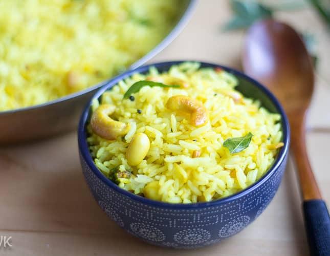 Kadarangai Saadam | Wild Lemon Rice