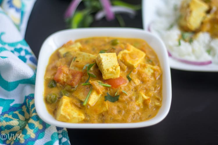 Vegan Tofu Tomato Curry