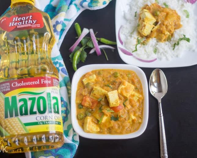 Vegan Tofu and Tomato Curry