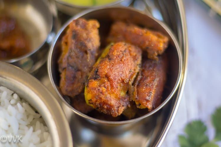 Parwal Podi for Vegetarian Konkani Thali