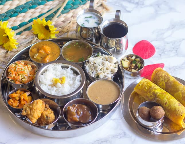 Ugadi Thali | Karnataka Special Yugadi Thali