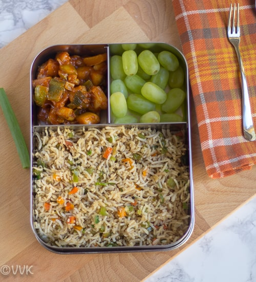 Fried Rice | Vegetable Fried Rice