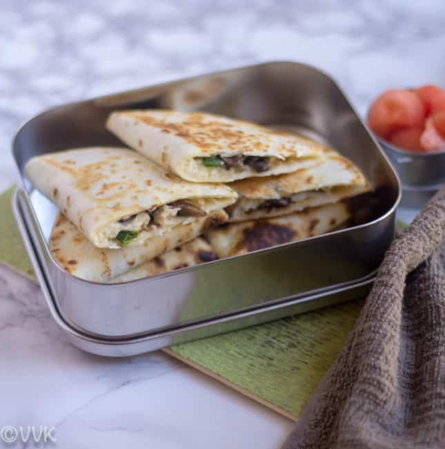 MushroomQuesoQuesadilla