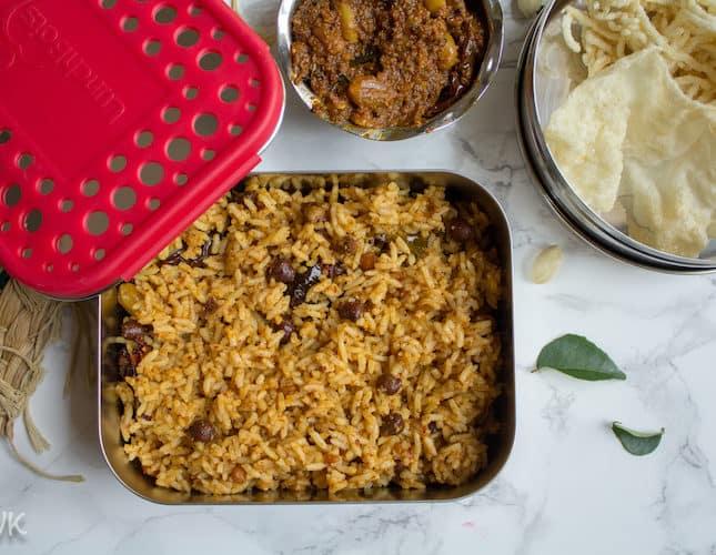 Tamarind Rice | Puliodarai
