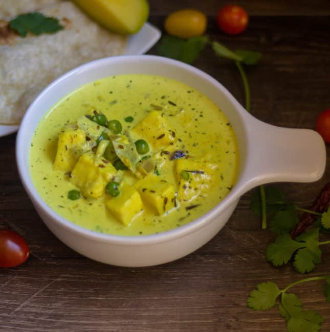 Yellow Paneer Curry | Easy Paneer Recipes