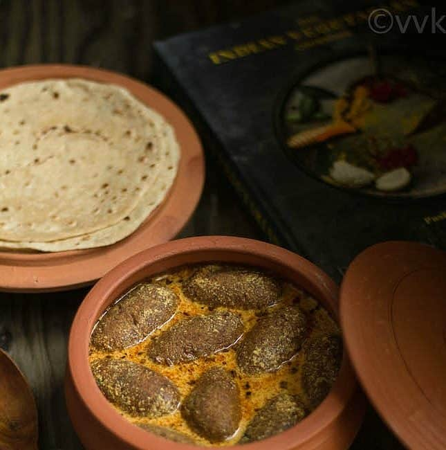 Bharwaan Gatte | Stuffed Chickpea Flour Dumpling Curry