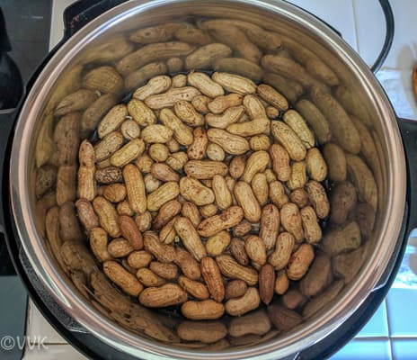 cooking raw peanuts in instant pot