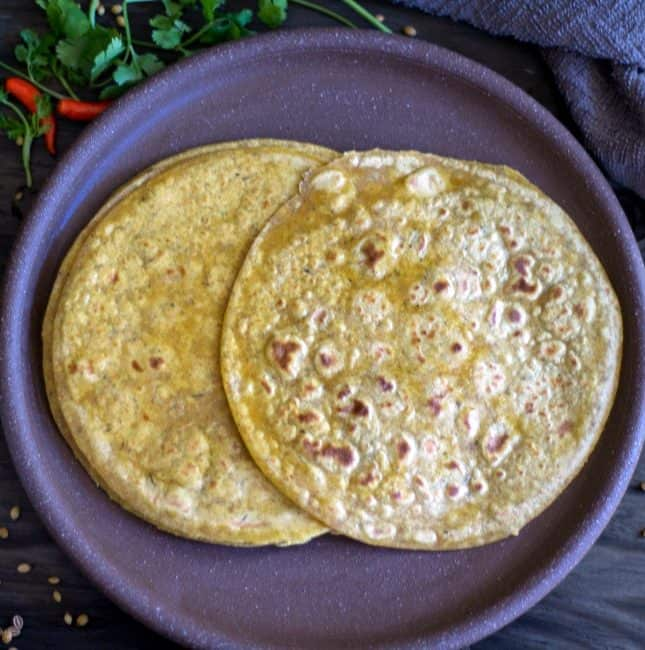 Rotimatic Masala Roti with Wheat Flour and Quinoa Flour