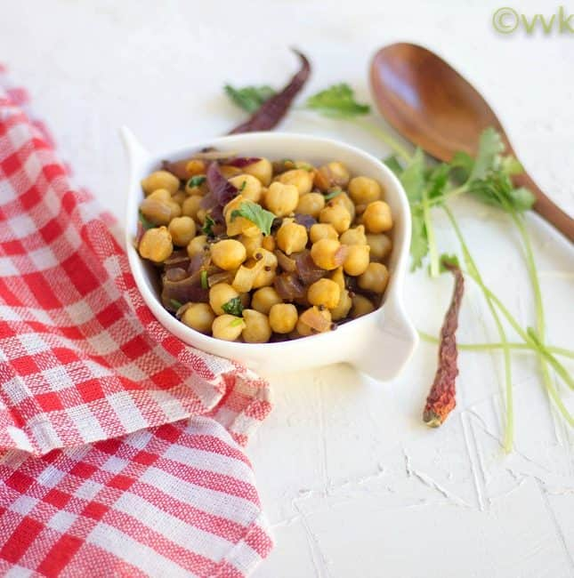 Garbanzo Beans Stir-Fry | Vegan & Gluten-Free