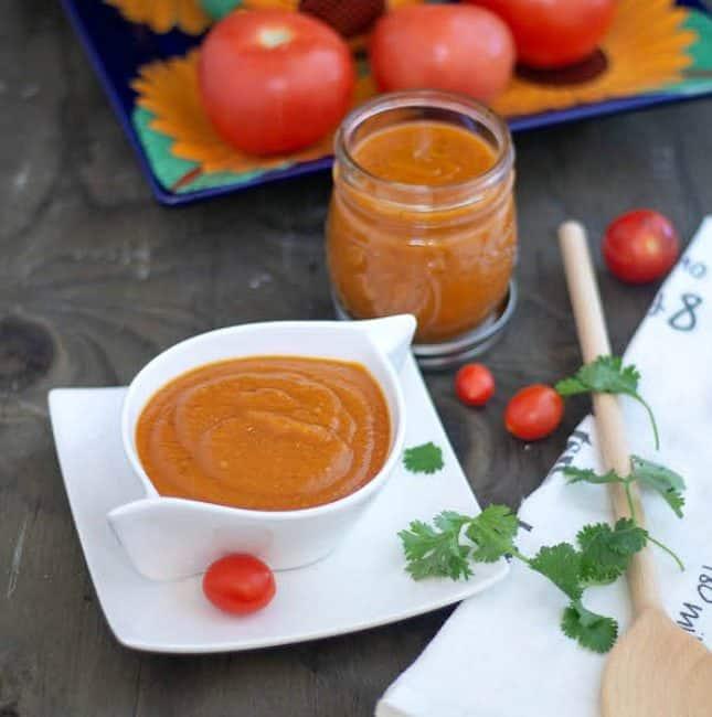 Instant Pot Enchilada Sauce | Gluten-Free Enchilada Sauce
