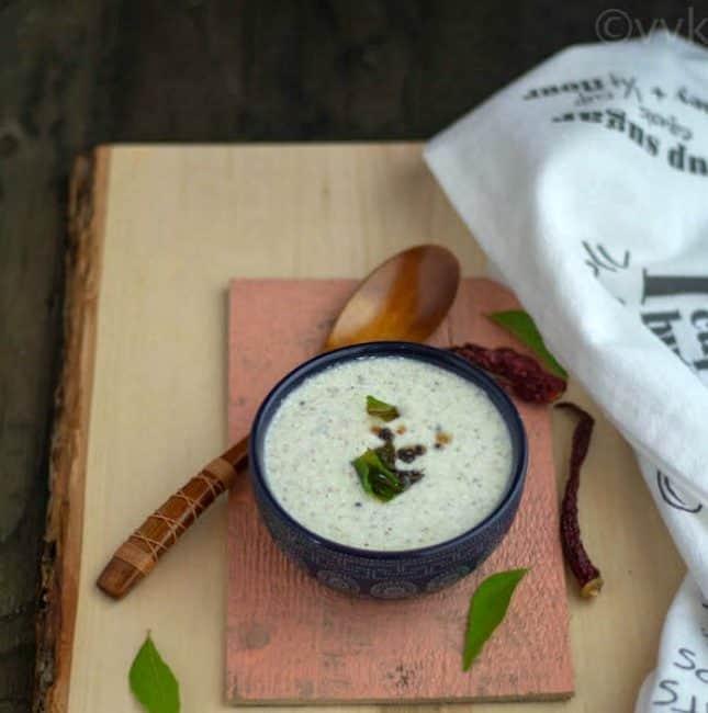Instant Raw Buttermilk Sambar | Patchai Mor Kuzhambu