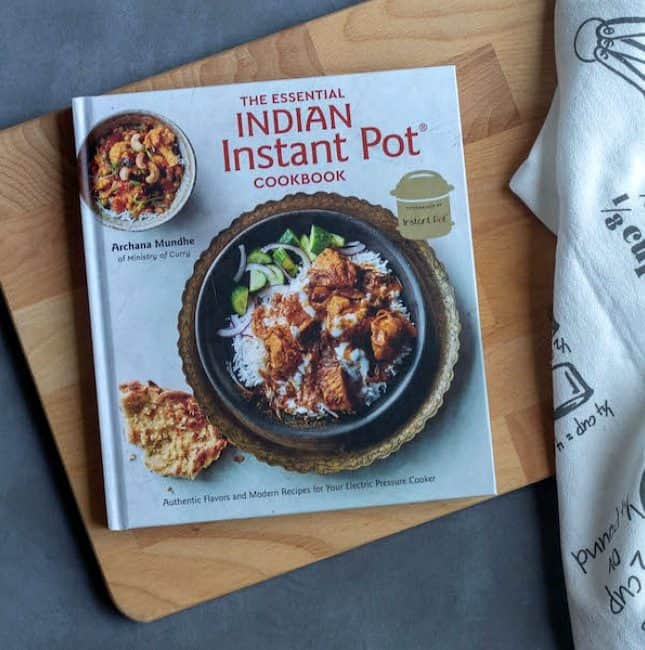 Book Review – The Essential Indian Instant Pot Cookbook