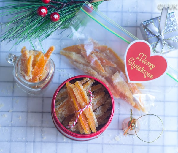 Fabulous edible gifts - Candied Orange Peels