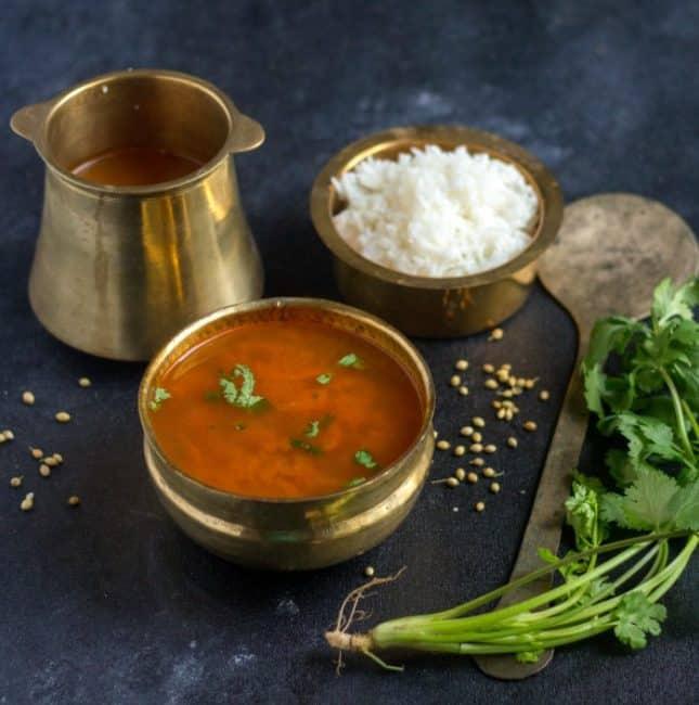 Kerala Style Rasam | Instant Rasam without Rasam Powder