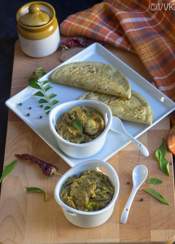 Mushroom Masala - Easy Mushroom Curry Recipe