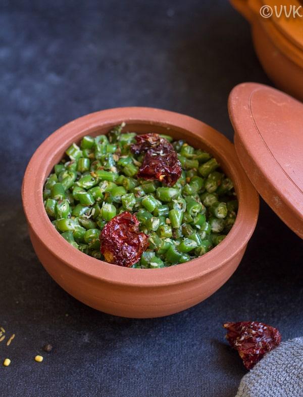 instant pot green beans stir-fry