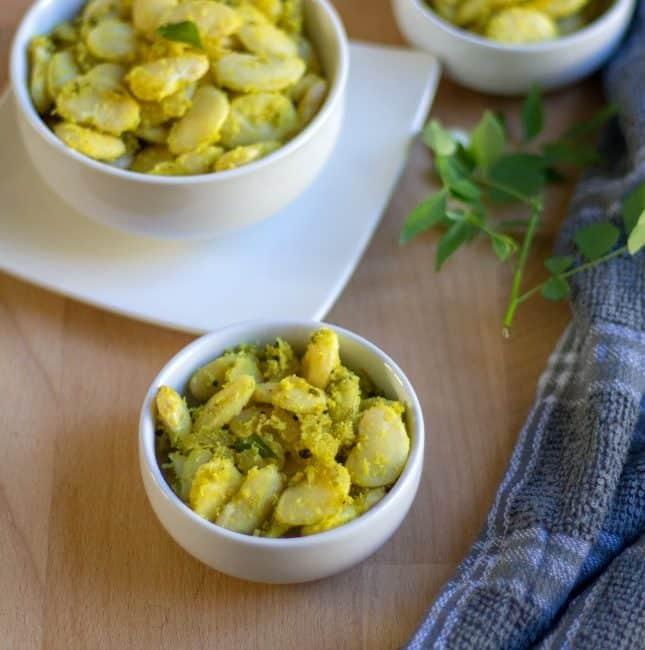 Butter Beans Masala Curry | Butter Beans Pirattal