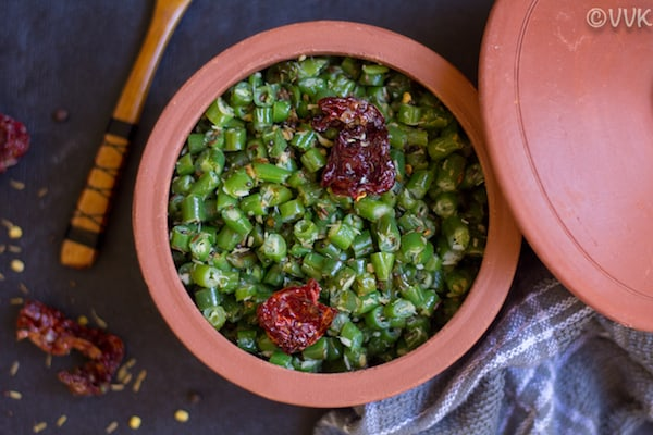 indian style green beans curry