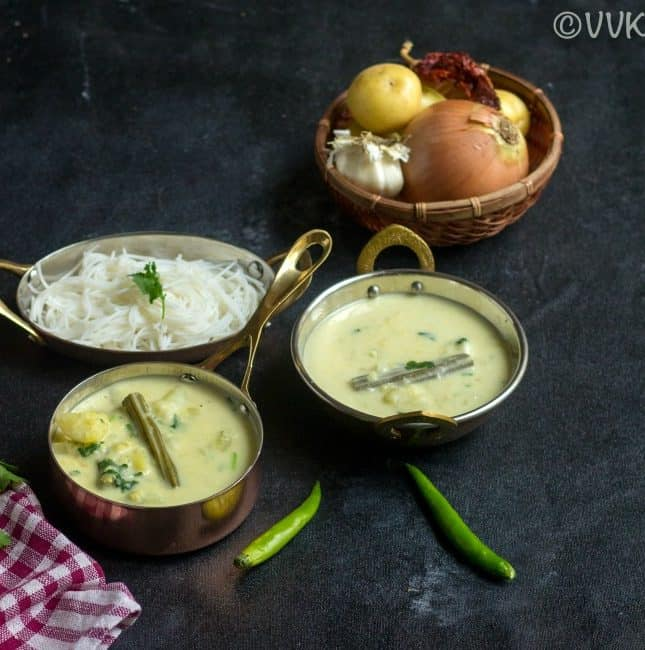 Sodhi Kuzhambu | Vegan Stew with Potatoes and Moringa Pods