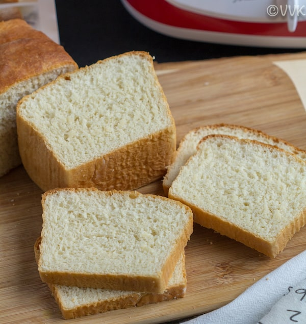 Fabulous Homemade White Bread - perfect for sandwiches