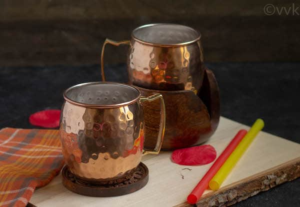 copper mugs from moscow muled