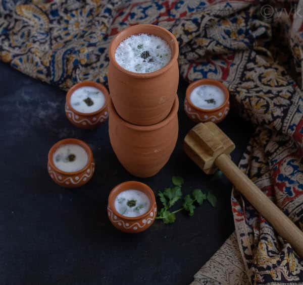 neer mor in mud tumbler and kulhad cups