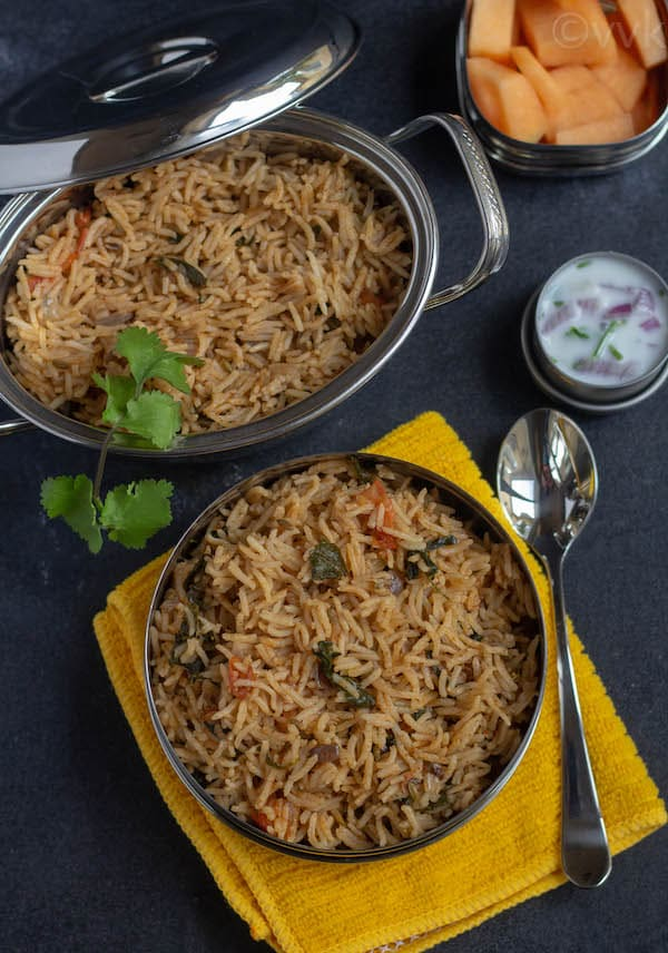 Instant Pot Methi Pulav