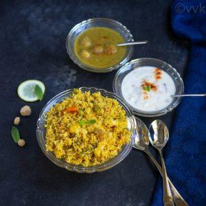 rawther veg biryani recipe - palakkad style