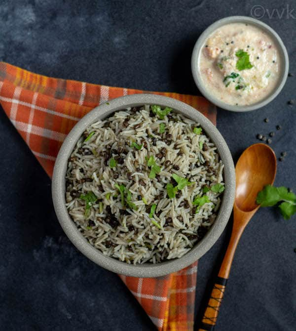 instant pot black gram lentils rice