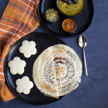 barley idli and dosai