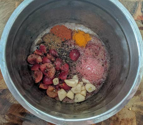 cherry rasam ingredients