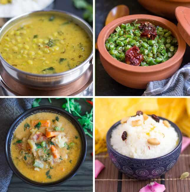 collage of south indian instant pot recipes