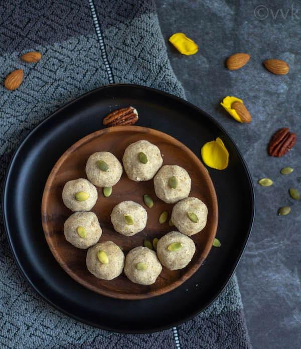 easy no cook laddu for diwali