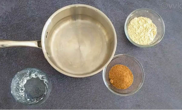 sattu porridge step 1
