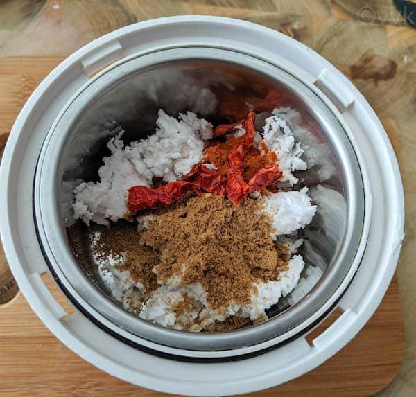 poondu kuzhambu spice mix